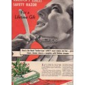 "1937 Durham Razor Ad ""Finest Safety Razor"""