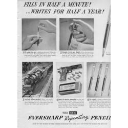 1937 Eversharp Repeating Pencil Ad