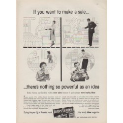 "1959 Better Homes and Gardens Ad ""If you want to make a sale ..."""