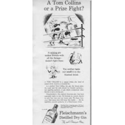 1937 Fleischmann's Distilled Dry Gin Ad