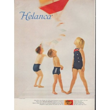 "1959 Helanca Ad ""Florence Eiseman"""