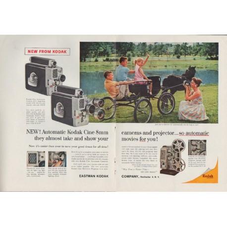"1959 Kodak Ad ""New From Kodak"""