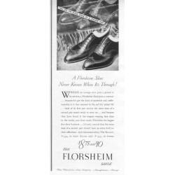 1937 Florsheim Shoe Ad