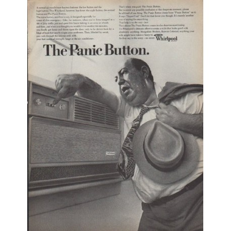 "1968 Whirlpool Ad ""The Panic Button"""