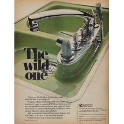 "1968 American Standard Ad ""The wild one"""