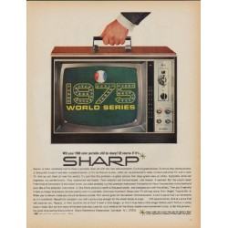 "1968 Sharp Ad ""1975 World Series"""