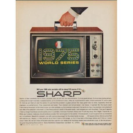 "1968 Sharp Ad ""1975 World Series"""