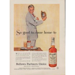 "1957 Bellow's Ad ""So good to come home to"""