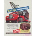 "1948 GMC Trucks Ad ""What It Takes"""