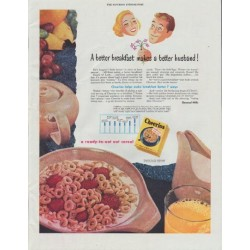 "1948 Cheerios Ad ""A better breakfast makes a better husband !"""