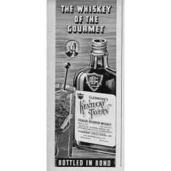 "1937 Glenmore Whiskey Ad ""Kentucky Tavern"""