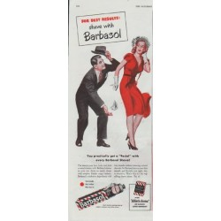 "1948 Barbasol Ad ""For Best Results"""