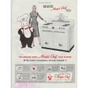 "1948 Magic Chef Ad ""Greatest Magic Chef Yet!"""