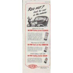"1948 Du Pont Ad ""Red Hot?"""