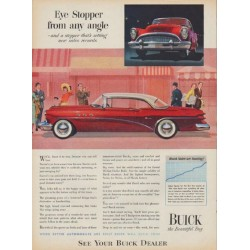 "1954 Buick Ad ""Eye Stopper"""