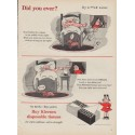 """1954 Kleenex Tissues Ad """"Did you ever?"""""""