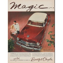 "1954 Chrysler Ad ""Magic"""