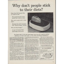 "1954 Sugar Information, Inc. Ad ""stick to their diets"""