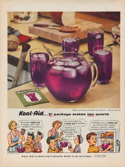 1959 kool aid | Kool aid, My childhood memories, Vintage ads |Magazine Ads 1960 Kool Aid