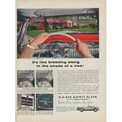 "1954 Ford Glass Company Ad ""breezing along"""