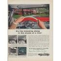 "1954 Ford Glass Company Ad ""breezing along"""