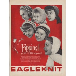 "1953 Eagleknit Ad ""Pippins!"""