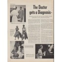 "1953 New York Life Insurance Company Ad ""The Doctor"""