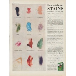 "1953 Rinso Ad ""take out Stains"""