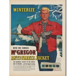 "1953 McGregor Ad ""Winterize"""