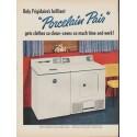 "1953 Frigidaire Ad ""Porcelain Pair"""