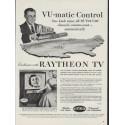 "1953 Raytheon Ad ""VU-matic Control"""