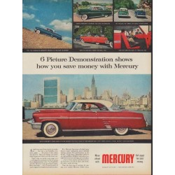 "1953 Ford Mercury Ad ""Picture Demonstration"""