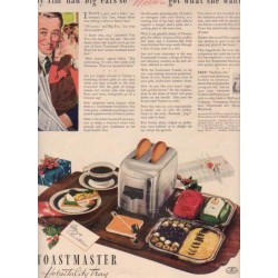 "1937 McGraw Toastmaster Ad ""Tiny Tim"""