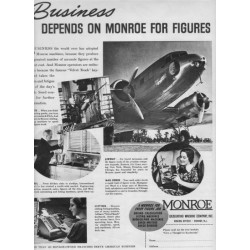 1937 Monroe Calculating Machine Company Ad