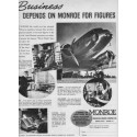1937 Monroe Calculating Machine Company Ad