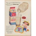 """1953 Meadow Gold Ad """"You're never too young"""""""