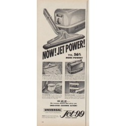 """1953 Jet 99 Ad """"Jet Power"""""""