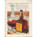 "1937 Mount Vernon Whiskey Ad ""Straight Rye"""
