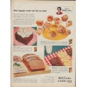 """1953 Betty Crocker Ad """"That fourth meal"""""""