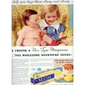"1937 Nucoa Margarine Ad ""Keep Them Strong"""