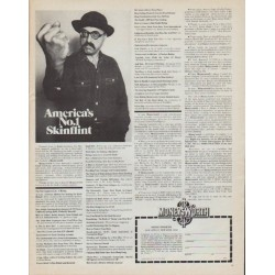 "1971 Moneysworth Magazine Ad ""America's No. 1 Skinflint"""