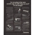"1971 Panasonic Ad ""Are you going to buy more"""