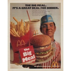 "1971 McDonald's Ad ""The Big Meal"""