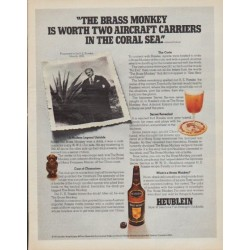 "1971 Heublein Ad ""The Brass Monkey"""