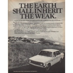 "1971 Volvo Ad ""The Weak"""