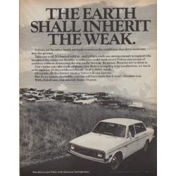 """1971 Volvo Ad """"The Weak"""""""