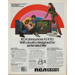 "1971 RCA Television Ad ""XL-100"""