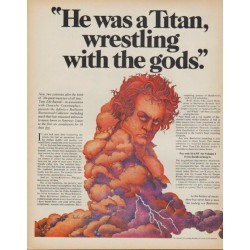 """1971 Time-Life Records Ad """"Beethoven Bicentennial Collection"""""""