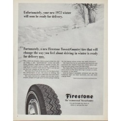 "1971 Firestone Ad ""your new 1972 winter"""