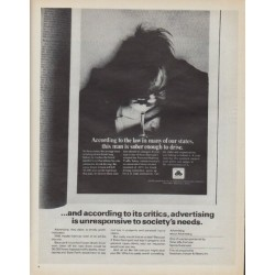 "1971 State Farm Insurance Ad ""According to the law"""